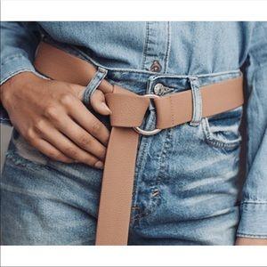 NWOT B-Low the Belt x Revolve Mia belt in tan!